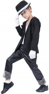 LUCIDA - Disfraz de Michael Jackson para niño, talla 4-6 años ...
