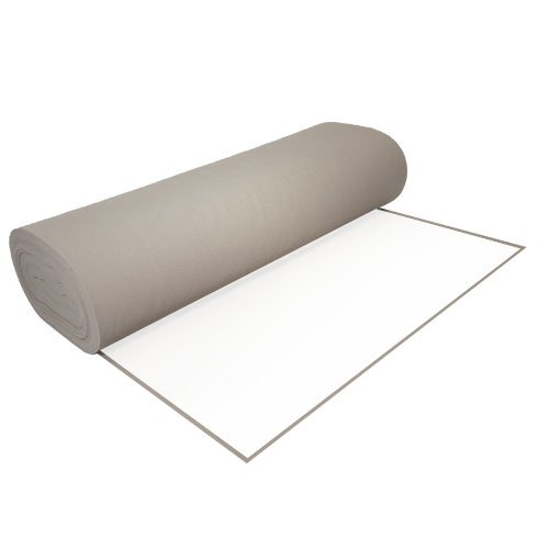 Acrylic Felt by the Yard with Adhesive 36'' Wide X 2 YD Long: Light Gray
