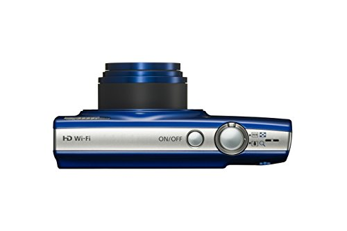 Canon PowerShot ELPH 190 Digital Camera w/10x Optical Zoom and Image Stabilization – Wi-Fi & NFC Enabled (Blue)