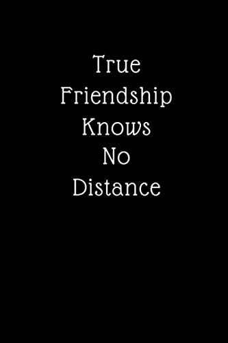 True Friendship Knows No Distance: Best Friend Appreciation Gift|Moving Away|Leaving Gifts (Alternative To Card) (Long Distance Guy Best Friend)