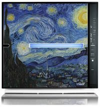 MinusA2 Artists Series SPA-700A [Starry Night, Germ Defense] by Rabbit Air (Image #1)