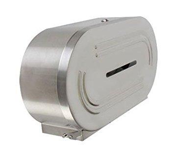 Thunder Group SLTD302 Twin Jumbo-Roll Toilet Tissue Dispe...
