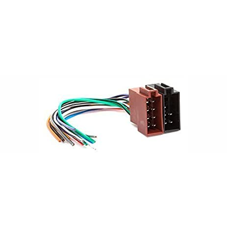 31ZIvDaHHEL._SY463_ amazon com carav universal female iso car radio wire cable wiring  at aneh.co