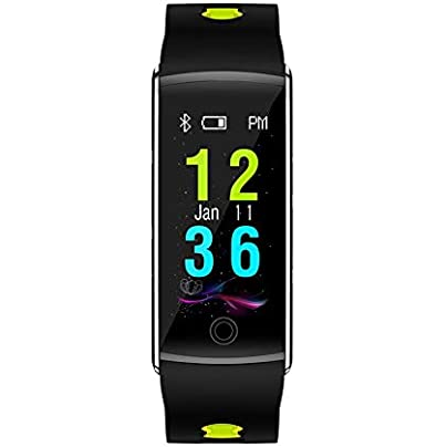 Lynn025Keats FIT17 Smart Bracelet Color Screen Ip68 Waterproof Smart Band Real Time Heart Rate Monitoring Wristband Estimated Price £37.71 -
