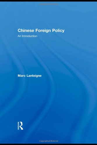 Chinese Foreign Policy: An Introduction
