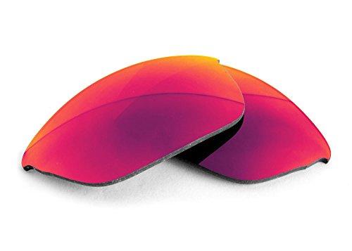 FUSE Nova Mirror Polarized Lenses for Oakley Flak 2.0 (Asian Fit) - Flak Lenses Asian 2.0 Oakley Fit