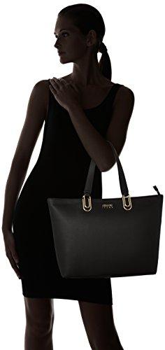 Armani Borsa Shopping - Bolsos totes Mujer Negro (Nero)
