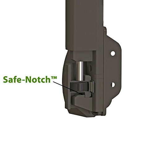 Trident 10 Inch Tall Black Magnetic Pool Child Safety Gate Latch | Keyed Alike | TRIDENT-10-BK-KA by Nationwide Industries (Image #2)