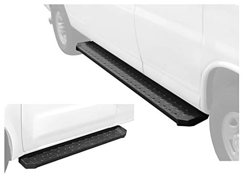 "Tyger Auto TG-RB2N1104B Running Board for Nissan NV 1500/2500/3500 Cargo Van (Driver 53"" Long & Passenger Side 96"" Long)"