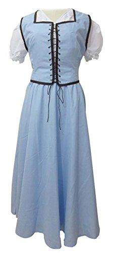 Beauty Costume Womens Cosplay Costume Halloween Dress Skirt (Custom made)