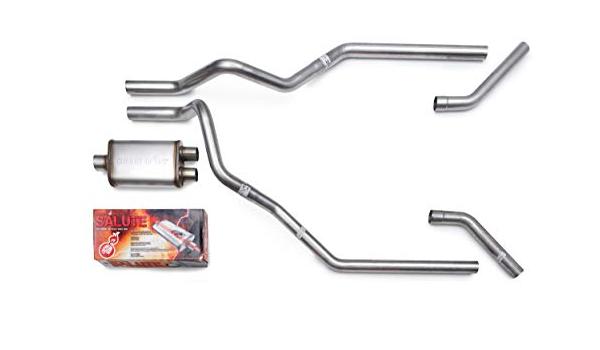 "Dodge Ram 1500 04-08 2.5/"" Dual Exhaust Kits Cherry Bomb Salute Side Exit"