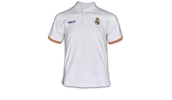 Polo Real Madrid blanco junior: Amazon.es: Ropa y accesorios