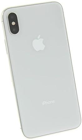 Apple iPhone X a1901 256GB Silver GSM Unlocked (Renewed)