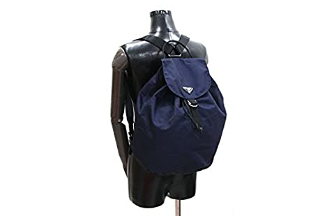 d8a773b08d22 Amazon.co.jp: PRADA(プラダ) リュックサック VZ0054 ネイビー ナイロン 中古 紺 ロゴ バックパック PRADA  [並行輸入品]: 服&ファッション小物