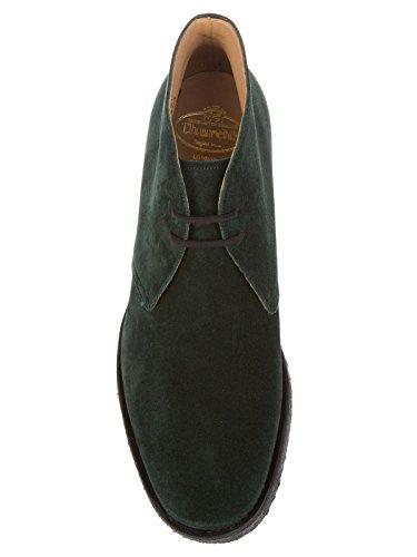 Uomo Stringate Verde Rydercastorosuededarkgreen CHURCH'S Camoscio 5RHqaYTxw