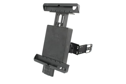 Padholdr Ram Lock Series Lock and Dock iPad Dash Kit for 2002-2008 Audi A4, A4 Cabriolet and S4 by PADHOLDR