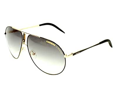 Carrera Sunglasses Carrera 44 KU7 YR Metal Black - Gold Gradient Green