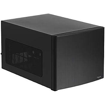 Fractal Design Node 304 - Black - Mini Cube Compact Computer Case - Small Form Factor - Mini ITX - Mitx - High Airflow - Modular Interior - 3X Silent R2 120mm Fans Included - USB 3.0