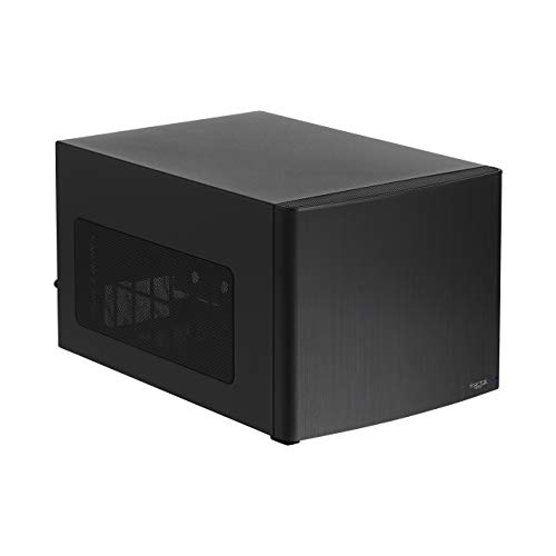 Fractal Design Node 302 – Compact Mini Tower Computer Case – Small Form Factor – Mini ITX – Mitx – High Airflow – Modular Interior – 3X Silent R2 120mm Fans Included – USB 3.0 – Black