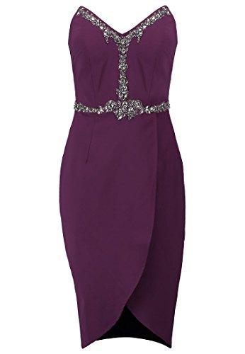 MISTRESS feierliches Kleid LITTLE Etuikleid bordeaux Kleid 36 GR BqxvtZw