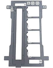 OKLILI 35mm Fotohouder Film Slide Negatieve Houder & Cover Guide Compatibel met Epson Perfectie V100 V200 V300 V330 V350 V370 Scanner