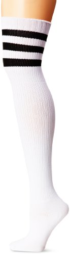 Leg Avenue Athletic Ribbed Thigh Highs One Size Fits Most