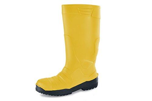 Unisexe Crews Jaune Bottes Chaussures Pu 9 5 nbsp;uk Pour Taille Sentinel wIxqHU