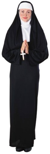 Adult Themed Costumes (Rubie's Costume Nun Costume (Adult) Costume)