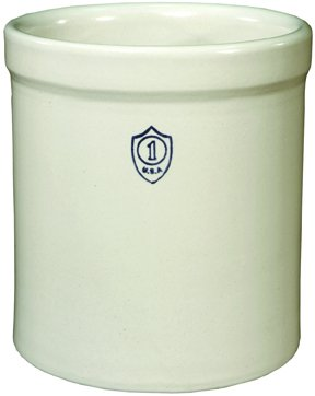 Ohio Stoneware Crock 1 Gal. Boxed (Pickling Ceramic Crock)