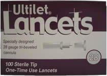 Ultilet Original Lancets 28G Box of 100 by Ultilet Original Lancets 28G Box of 100 (Image #1)