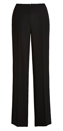 Joseph Ribkoff Black High-Waisted Tailor Wide Leg Pants Style 32204 - Size 18 by Joseph Ribkoff