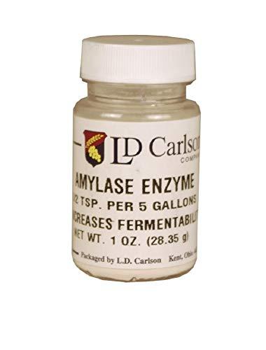 LD Carlson - Amylase Enzyme - 1 oz