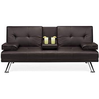 Amazon.com: Mid-Century Modern Solid Loveseat Sofa ...