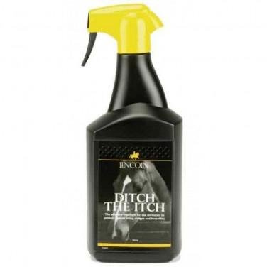 Lincoln Ditch The Itch - 1 litre - an effective midge repellent for sweet itch susceptible horses