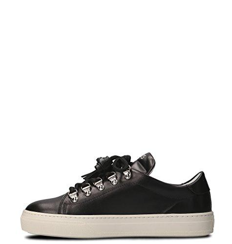 Donna XXW0XK0V200GOCB999 Sneakers Tod's Pelle Nero 5HvUqwT