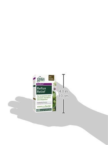 Gaia herbes Rapidrelief Reflux secours comprimés, comte 45