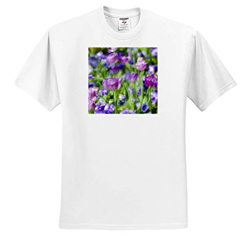 3dRose Danita Delimont - Flowers - Tulips at Claude Monet House and Gardens, Giverny, France - Toddler T-Shirt (3T) (ts_313126_16) White (Toddler Monet Shirt)
