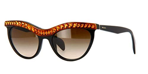 Prada 38621 NAC6S1 Black 04PS Portrait Cats Eyes Sunglasses Lens Category ()