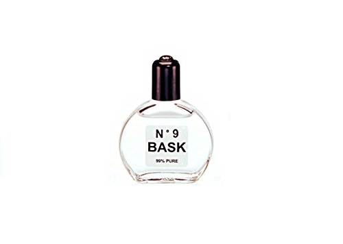 N o 9 BASK Label for Women, White, .50 oz.