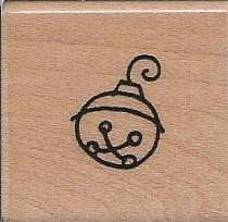 Little Jingle Wood Mounted Rubber Stamp (A215)