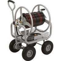 Strongway Garden Hose Reel Cart - Holds 400ft.L x 5/8in. Dia. Hose by Strongway