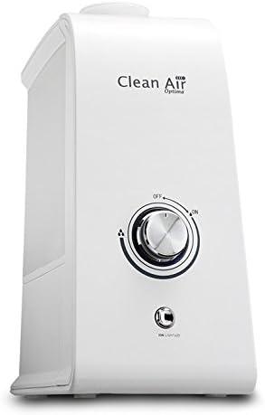 Opinión sobre Clean Air Optima - Humidificador de aire con ionizador 2 en 1 CA-601 (3,5 l, hasta 25 m2, 33,5 x 14,0 x 27,5 cm)