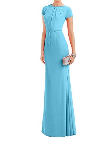 Figurbetont Neu Brautmutterkleider Charmant Kleid Damen Blau Abendkleider Partykleider Orange Lang 2018 Trumpet qUU1wz4T