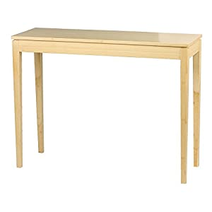 Exceptional Brazil Bamboo Console Table   Light Beach