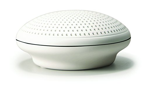 - Coby Portable Bluetooth Disc Speaker (White)