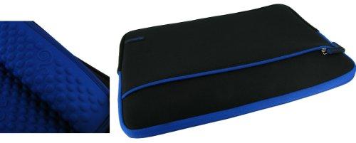 rooCASE Super Bubble Neoprene Sleeve Case for Toshiba Portege Z835 13.3-Inch Ultrabook (Dark Blue / Black)