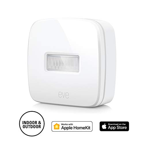Eve Motion - Smart Wireless Motion Sensor with IPX 3 Water Resistance, get Notifications, Automatically Trigger Accessories and Scenes, no Bridge Necessary, Bluetooth (Apple HomeKit) (Best Home Automation System Ipad)