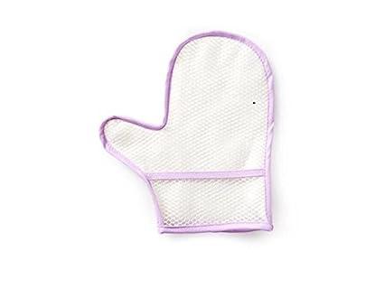 Toallitas de Limpieza para Pantallas Guantes de Limpieza de Cristales y Ventanas con Teclado (Púrpura