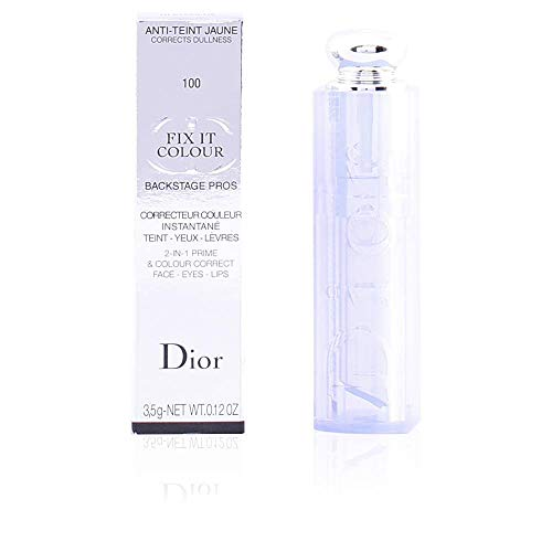Christian Dior Fix It Colour 2-in-1 Prime and Colour Correct, 100 Blue, 0.12 Ounce