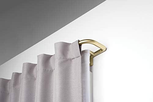 Umbra 1005893-104 Twilight Double Curtain Rod Set Wrap Around Design is Ideal